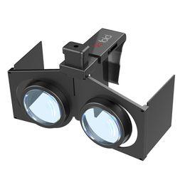 "Wholesale Universal 3d Glasses - VR Fold V1 Mini Folding 3D VR Glasses Ultralight Virtual Reality Glasses Movie Universal for iPhone Samsung Android 4"" - 6.0"" Smartphone"