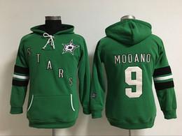 Wholesale Womens Sweatshirts Xxl - Womens Hockey Jersey, Dallas Stars Hoodie 9 Mike Modano 10 Patrick Sharp 91 Tyler Seguin 100% Stitched Embroidery Logos Hoodies Sweatshirts