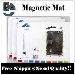 Wholesale Iphone 4s Screw Mat - 1pcs Magnetic Mat Screw Keeper Chart Professional Guide Pad for iPhone   7 plus 6s 6 plus 5 5s 5c 4s 4