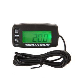 Wholesale Cheap Mowers - igital RL-HM032R Resettable Inductive Tacho-Hour-Meter Tachometer for Motorcycle Marine Boat ATV Snowmobile Generator Mower Cheap tachom...