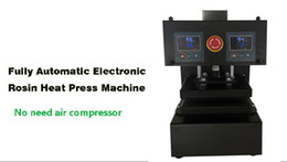 Wholesale Auto Heat Air - Newest Type Rosin Press NO Need Air Compressor Machine PURE ELECTRIC Auto Dual Heat Plates Rosin Heat Press Machine with LCD Panel