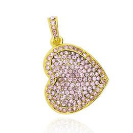 Wholesale Usb Flash Drives Heart - HanDisk Pink Rosey Heart Metal Diamond Flash Drive 128MB 1 2 4 16 32 64 128gb Usb Pen Drive Portable Hard Drive Memory stick EU047
