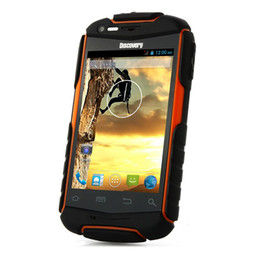 Wholesale Discovery V5 Android Phone - Unlocked Dual SIM 3G Mobile Smart Phone Discovery V5 Dual Core 3.5Inch Rugged Android 4.2 512MB RAM 4GB ROM 1500mAh 5MP