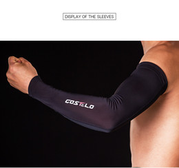 Wholesale Sun Leg Covers - Costelo Cycling Bike Bicycle Arm Leg Warmer Cover Uv Sun Protection Cycling Sock Free Ship