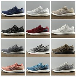 Wholesale Pure Peach - Adidas Originals Ultra Pure Boost 2018 Sneaker 3.0 Shadow Knit 350 Racer Women's MEN'S Running pureboost Sport Shoes Size US5-US11