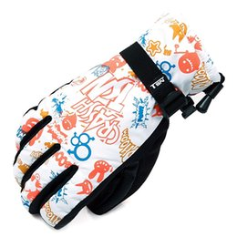 Wholesale Waterproof Warm Gloves For Women - High Quality Winter Warm Gloves for Women Female Print Flowers Cycling Gloves Windproof Waterproof Ski or Snowboard Gloves 2016 Warm Glove