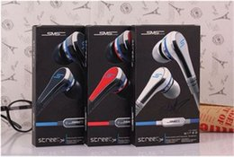 Wholesale Sms Headphones New - New Fashionable SMS Audio 50 cent In-Ear headphones Mini 50 cent with mic and mute button with earphone STREET by 50 Cent earbud 3 colors
