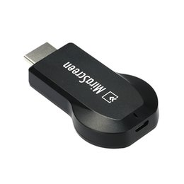 Wholesale Usb Wi - DHL MiraScreen OTA TV Stick Dongle Better Than EZCAST EasyCast Wi-Fi Display Receiver DLNA Airplay Miracast Airmirroring Chromecast