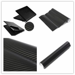 Wholesale Desktop Cases - 3D Carbon Fibre Skin Decal Wrap Sticker Case Cover For PC Laptop Notebook