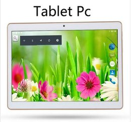 Wholesale Computer Screen White - tablet computer 4G tablet pc 9.7 inch Android 5.1 Octa core tablet android Ram 4GB Rom 64GB