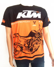 Wholesale Gps For Motorbikes - 2019 NEW MOTO GP for KTM RACING Motocross T-shirts Motorbike Racing T-shirt Mountain Bike Cycling MTB DH MX Jersey