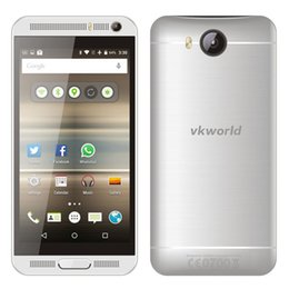 Wholesale Double Sim 3g - vkworld VK800X 5inch Quad Core MTK6580 1G RAM 8G ROM 5MP+8MP Camera Double Flash Android 5.1 Dual SIM 3G GPS Mobile Phone