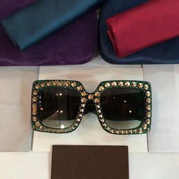 2019 lunettes de soleil pour femmes Nouveau lunettes de soleil designer G0145 lunettes de soleil pour femmes femmes lunettes de soleil femmes marque designer diamants conception protection UV lunettes de soleil de mode lunettes de soleil pour femmes pas cher