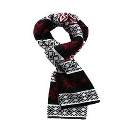Wholesale Wholesale Wool Hats Gloves - Wholesale-2015 The New autumn and winter scarf snow warm men thickening scarf cashmere splicing wool scarf 3 colors 12.42