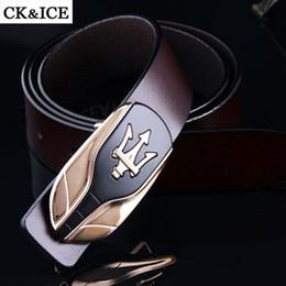 Wholesale Car Buckle Belts - 2016 new maserati brand designer belts men high quality business mens belits luxury man's choice Free shipping 07