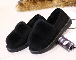 Canada 2018 femmes bottes cheveux de cony à la main court en peluche bottes de neige talons hauts bottes mi-mollet doux style glisser sur dames chaussures taille 36-40 Offre