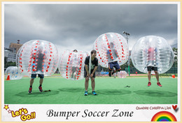 Wholesale Zorbing Balls For Sale - Free shipping!Transparent inflatable bumper ball soccer bubble ball zorbing ball loopy ball for sale