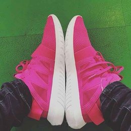 Wholesale Morning Shoes - Pink Black White Jogging Shoe Gril Running Shoes Sneaker Tubular Viral Y3 Morning Run Shoes Sports Climb Walking Shoes EUR36-39