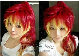 Wholesale Ao Exorcist Wig - 100% Hot Sell Brazil dark-haired woman wig cosplay Heat Resistant synthetic >>>>Ao no Exorcist Shura Kirigakure Long Full Party Customs Cosp