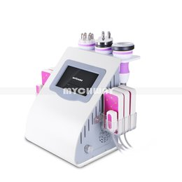 Wholesale cavitation screen - Professional Unoisetion Ultrasonic Cavitation Machines Ultrasonic Liposuction Diode Body Laser Slimming Beauty Machine Color Touch Screen