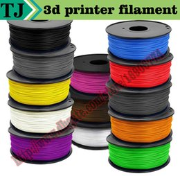 Wholesale 3d Spool - Hot sale china 3d pen 3d printer abs filament 1.75mm black color 3d printer filament abs 1.75mm 1kg spool for 3d impressoras