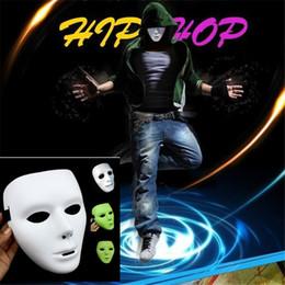 Хорошее качество горячие JabbaWockeeZ маски анфас маска белый хип-хоп Маска зеленый ночник танец Маска от