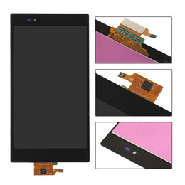Wholesale Xperia Z Lcd - For Sony Xperia Z Ultra T2 Ultra M4 Aqua M5 Dual E5603 XL39h XL39 C6806 C6843 C6833 D5322 LCD Display Digitizer Touch Screen Panel Assembly