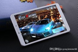 Wholesale Tablet Android 4g Gps 16gb - Cheap 8 inch MTK6735 Android 5.1 phablets Quad Core 1GB RAM 16GB ROM 4G TEL 1280*800p Dual Camera GPS Buetooth IPS Tablets
