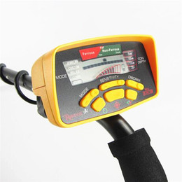 Detecção de ouro on-line-O detector de metais subterrâneo MD6350 profissional do ouro escava o caçador do tesouro / MD6250 O equipamento de deteção MD-5050 atualizado Pinpointer