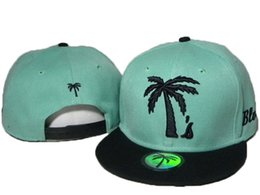 Wholesale Blvd Caps - BLVD Supply Fashion Hiphop Street Palm Tree Snapback Baseball Sport Basketball Caps Hats For Men and Woman drop shipping