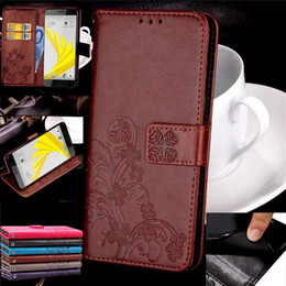 Wholesale Pro Bolts - Four Leaf Clover Style Wallet Card Slots Flip Leather Cover Case For HTC U Play 10 Pro Bolt C Ban U11 Sony Xperia XZ Premium XA1 Ultra
