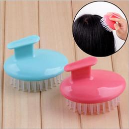Shampooing Lavage Cheveux Massager Brush Massager cheveux Brosse avec poignet Peigne Scalp Douche Body brush Livraison gratuite ? partir de fabricateur