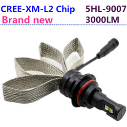 Wholesale Install Fog Lamps - Brand new CREE CHIP 9004 9007 HB1 HB5 dual beam 60W 6000LM 6000K LED Headlight Kit Driving Fog Lamp plug and play easy install Bulbs