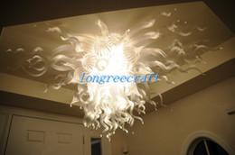 дом чистый Скидка Бесплатная доставка рот выдувается 110 в / 120 в светодиодные лампы специальные прозрачное стекло люстра мини-дом деко лампы