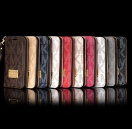 Wholesale Wholesale Flip Phones - Full Protective Leather Wallet Flip Phone Case For IPhone X 8 7 6S 6 Plus Back Cover Phone Protection Coque with String