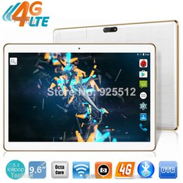 Wholesale Tablet China Ram - 9.6 inch tablet pc Octa Core 3G 4G LTE Tablets Android 5.1 RAM 4GB ROM 32GB Dual SIM Bluetooth GPS Tablets 9.6 inch tablet pcs
