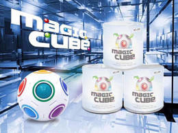 Wholesale Fantasy Puzzle - Creative Football Rainbow Ball Magic Cube Speed Fun Spherical Puzzles Kids Educational Learning Toys for Children Adult