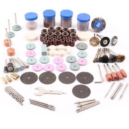 Wholesale Wholesale Rotary Tool Bits - New Fashion 161pcs BIT SET SUIT MINI DRILL ROTARY TOOL FIT DREMEL Grinding,Carving,Polishing tool set,grinder head free shipping