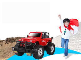 Wholesale Suv Batteries - Alloy Remote Control Car, SUV Car Toy,Super Big Size,Powerful Motor,with Light, Music,High Simulation,Kid' Gift,Collecting,Home Decoration