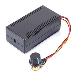 Wholesale Hho Motors - Wholesale-Cheap Sale DC Motor Speed Control PWM HHO RC Controller w  Extension Cord 10-50V 40A 2000W