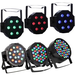 Wholesale Family Weddings - 18LED Par Lights for Stage Lighting with RGB Magic Effect by DMX512 control DJ Club Wedding Family Party Disco
