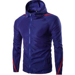 Wholesale Light Purple Jackets Coats - Wholesale- New Mens Jackets Casual Light Waterproof Sunscreen Jacket Thin Long Sleeve Coat Outwear 0978