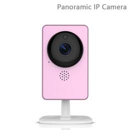 Wholesale Smallest Wireless Mini Camera - C60S Panoramic IP Camera Wide Angle Small 1080P FULL HD Mini Camera Infrared night vision Wireless Motion Alarm AT
