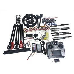 Wholesale Carbon Motors - Full Set Hexacopter GPS Drone Aircraft Kit Tarot FY690S Frame 750KV Motor GPS APM 2.8 Flight Control AT10Transmitter F07803-A