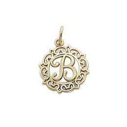 Wholesale Greek Letter Charms Wholesale - Classic 20pcs greek letter B charms with jump ring for jewelry making