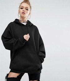 Wholesale Women S Sweatshirts Wholesale - 2017 Women Fashion Sport Fleece Sweatshirt Women Hoodies Long Sleeve Bat Sleeves Hooded Jacket Jogging Sportswear Hoody Pullover Plus Size S