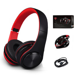 Wholesale Bluetooth Headset Pc Mobile - Wireless Bluetooth Headphones M2 Noise Cancelling Stereo Headset Headphone Earphone with Mic Support TF Card FM Radio For Mobile Phone PC