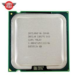 Processador Intel Core 2 Duo E8400 Dual-Core 3.0GHz FSB 1333 MHz Soquete 775 CPU SLB9J de