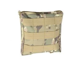 Wholesale Tactical Vest Bags - Airsoft Tactical Nylon Molle Bag Vest Accessory Pouch Bag Outdoor Sports Military Paintball durable EDC Bag Utility Drop Pouch