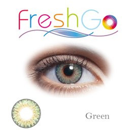 Wholesale Color Eyes Lens - 3 tone color blends contact lenses big eye cosmetic contact lens   12 colors in stock free shipping